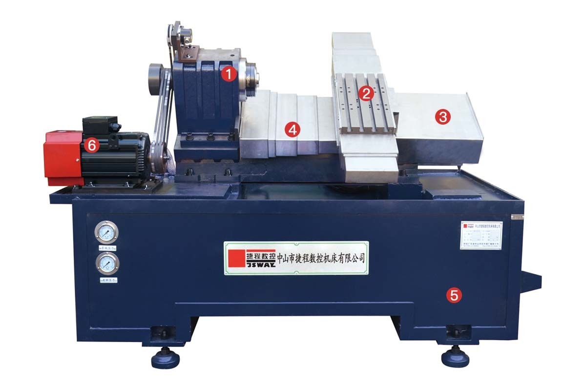 Hot 2 axis lathe axis JSWAY Brand